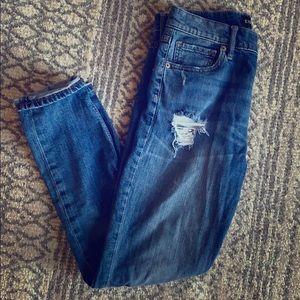 Express vintage skinny jeans